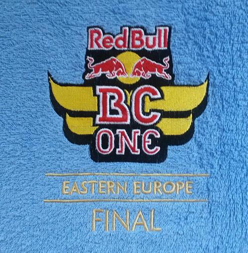 Вышивка Red Bull